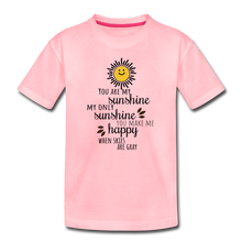 Load image into Gallery viewer, Toddler Premium T-Shirt | Spreadshirt 814 You Are My Sunshine - Toddler Premium T-Shirt - Memorable Treasures