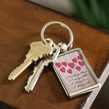 Load image into Gallery viewer, Keychain I Will Always Love You - Key Chain - Memorable Treasures