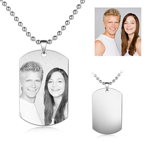 Necklace In Your Own Words...™ Custom Picture Necklace - Memorable Treasures