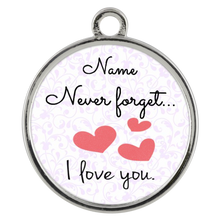 Load image into Gallery viewer, In Your Own Words Never Forget I Love You, Personalized Wickford Bracelet - Memorable Treasures