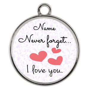 In Your Own Words Never Forget I Love You, Personalized Wickford Bracelet - Memorable Treasures