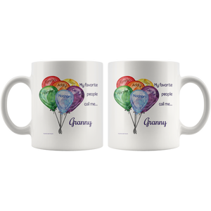 Drinkware My Favorite People Call Me... - Mug - Memorable Treasures