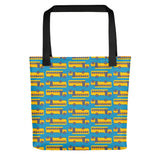 School Bus Tote Bag for Teacher or Bus Driver