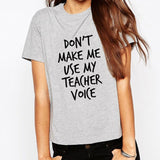Teacher Voice Women's Shirt