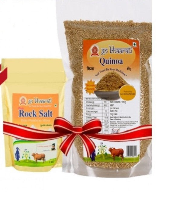 Quinoa and Rock Salt Combo