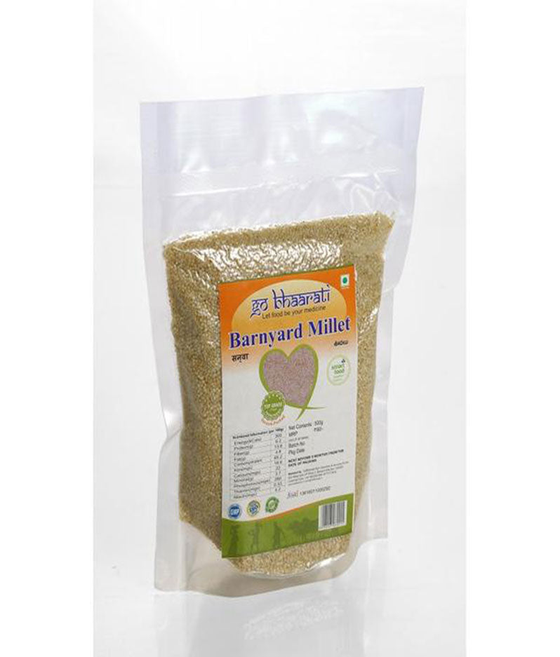 Natural Barnyard Millet (Vacuum Packed,500 grams)