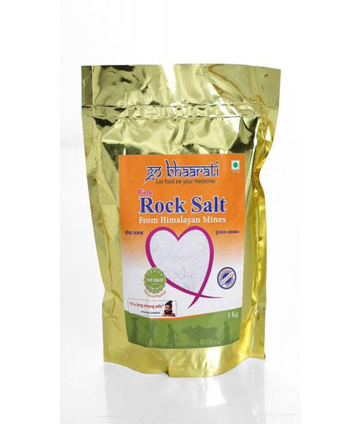 Pink Rock Salt from Himalayan Mines (1000 grams)