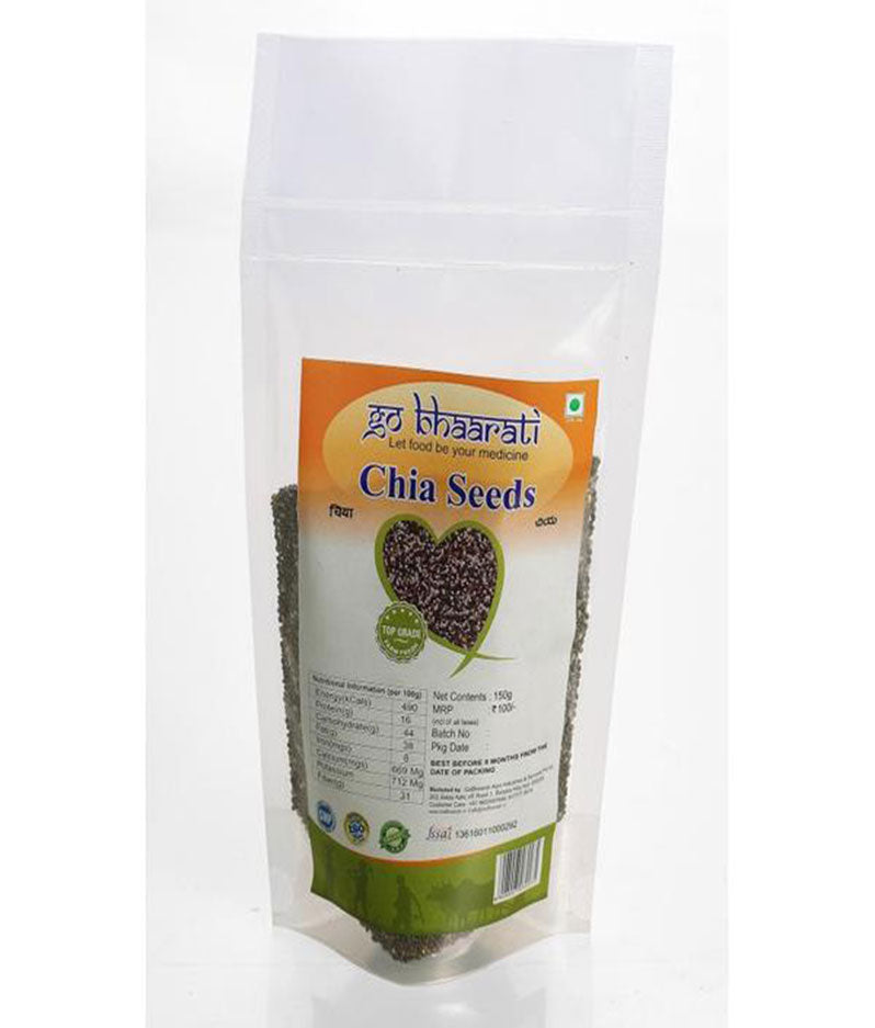 Natural Chia Seeds (150 grams)