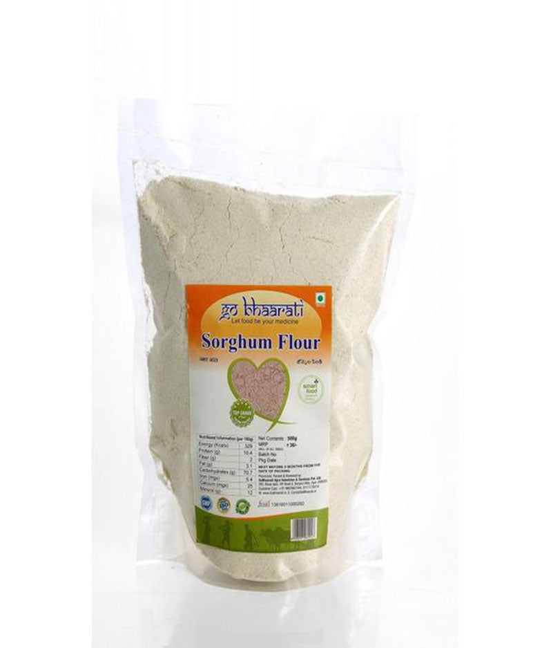 White Jowar Flour (400 grams)