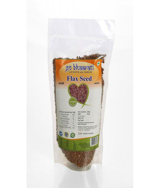 Natural Flax Seeds (200 grams)