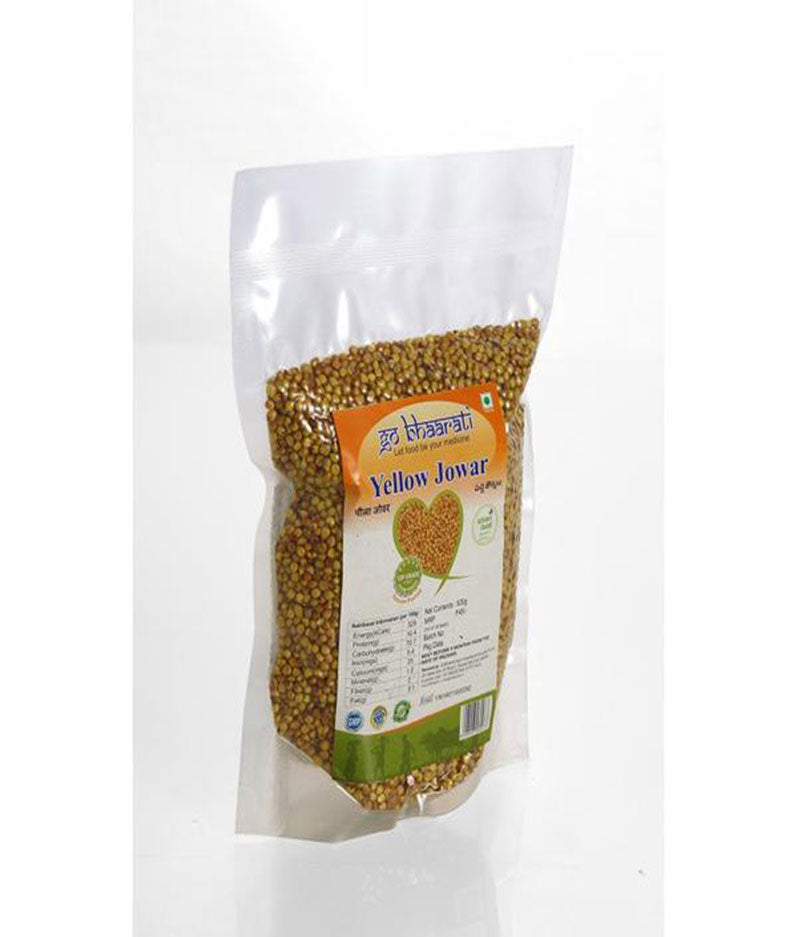 Yellow Jowar (Vacuum Packed,500 grams)
