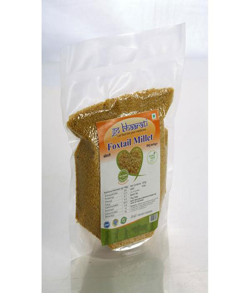 Natural Foxtail Millet (Vacuum Packed,500 grams)