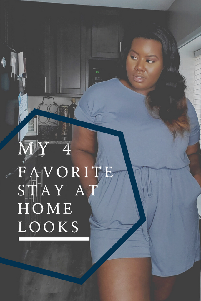 My 4 Favorite Stay At Home Looks