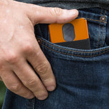 AL7 Slim Wallet | Sharp Orange