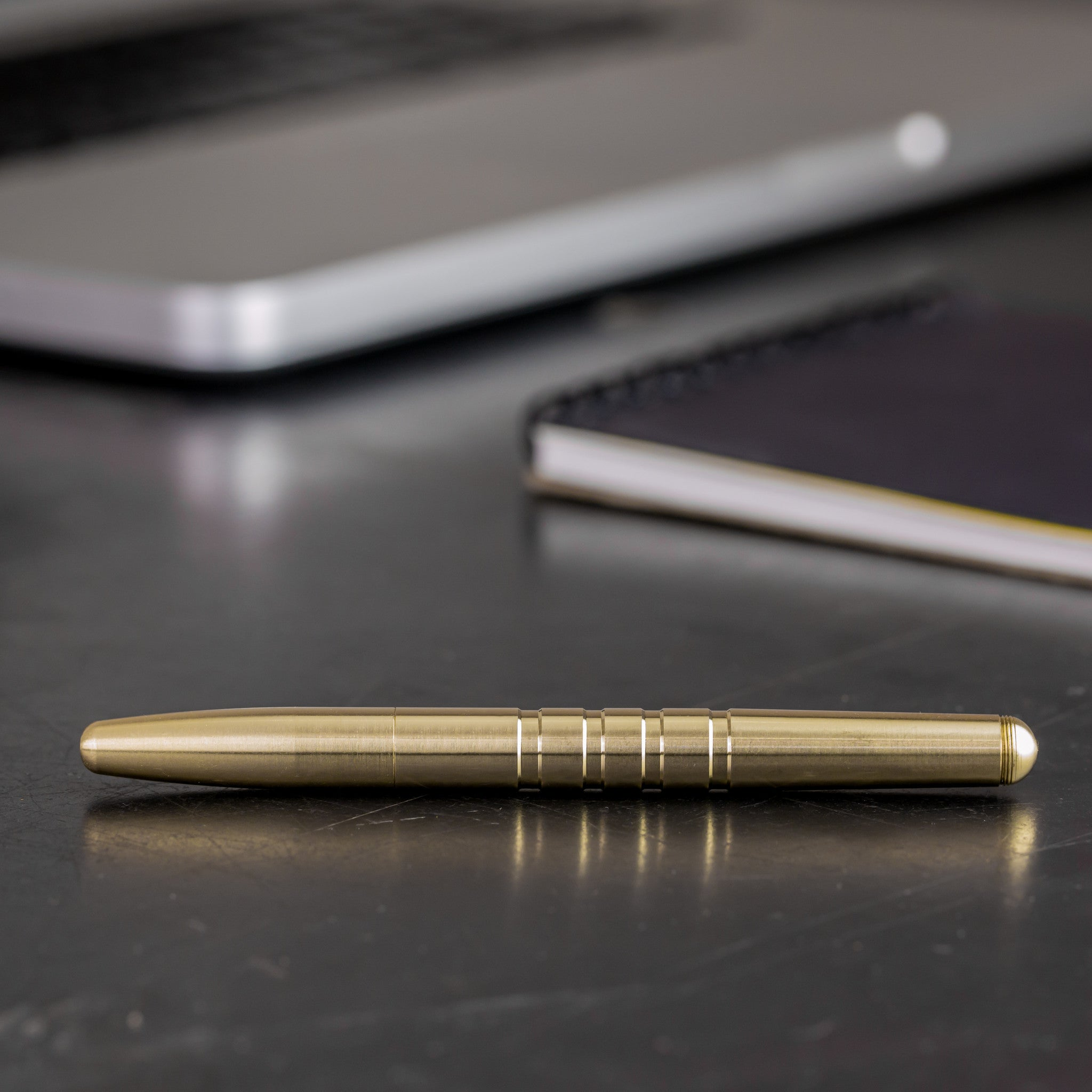 Machine Era Pen | Original Brass