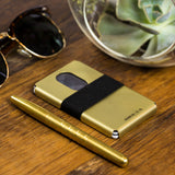Ti5 Slim Wallet | Gold PVD
