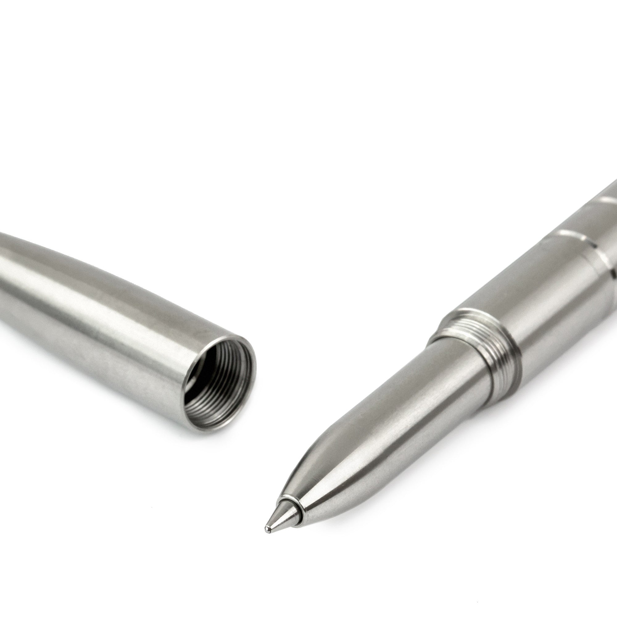 Machine Era Pen | Stainless Steel