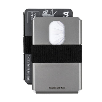 Machine Era Slim Wallet | Stainless Steel