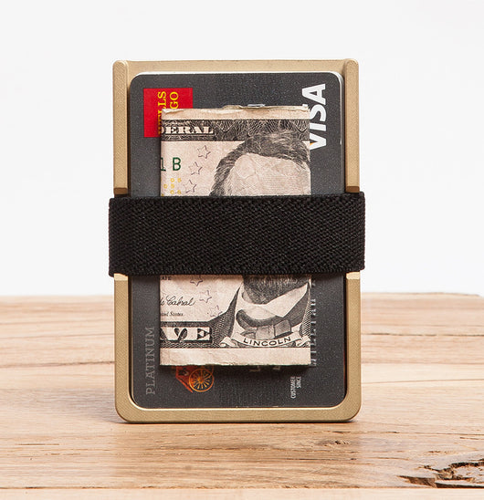 Machine Era Wallet | Solid Brass - Machine Era Co. - EDC