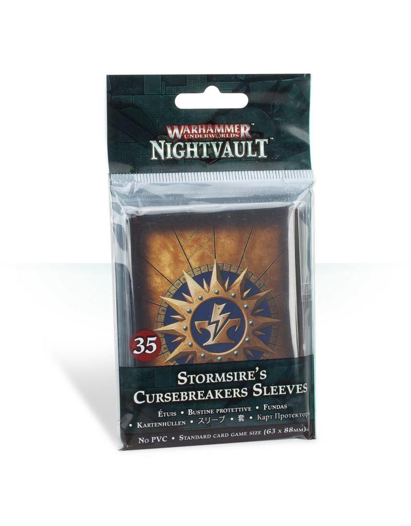 Games Workshop Warhammer Underworlds Nightvault: Stormsire'S Cursebreakers Sleeves