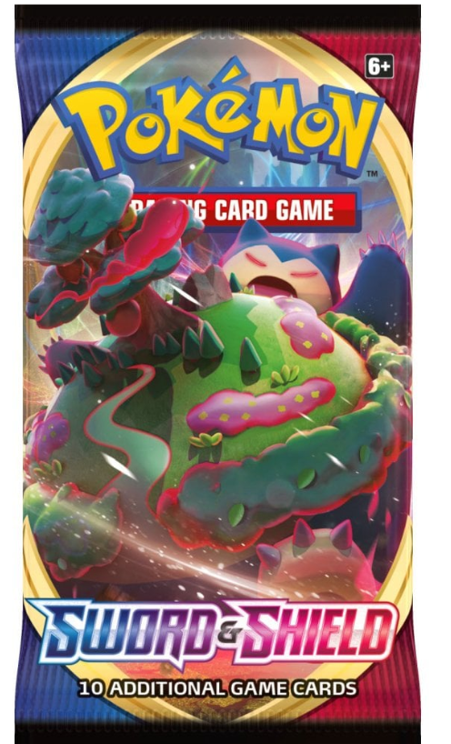 POKEMON Booster Pack (10 Cards) - Sword and Shield