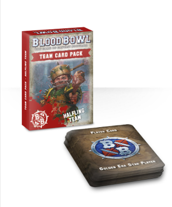 Games Workshop BLOOD BOWL HALFLING TEAM CARD PACK (EN)