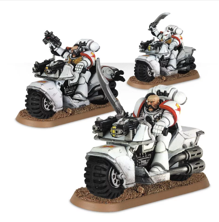 Games WorkshopWhite Scars Bike Squad Upgrade Pack