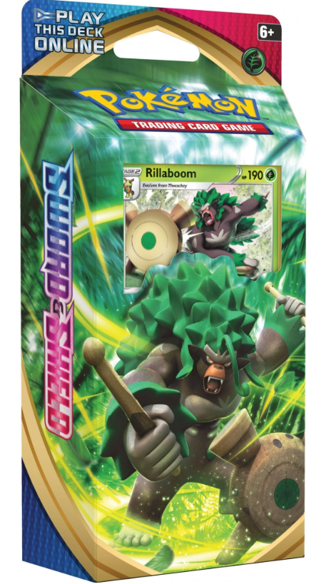 POKEMON Theme Deck : Rillaboom - Sword and Shield