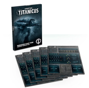 Games Workshop Adeptus Titanicus Warhound Scout Titan Command Terminal Pack