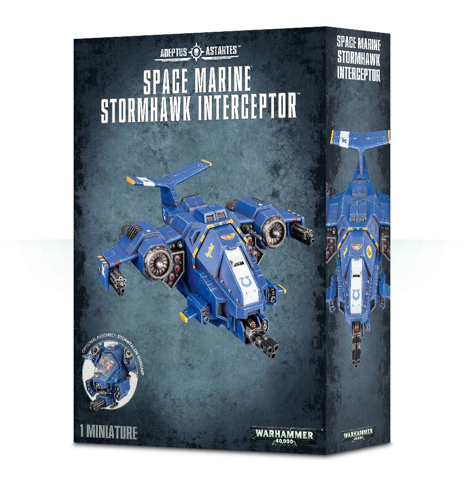 Games Workshop Stormtalon Gunship / Stormhawk Interceptor