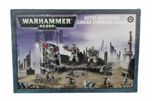 Games Workshop Cadian Command Sqaud