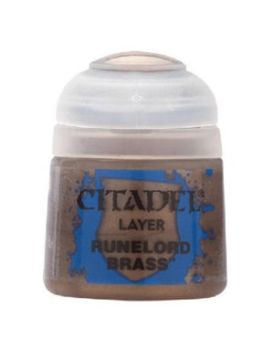 Citadel Layer  Runelord Brass 12Ml