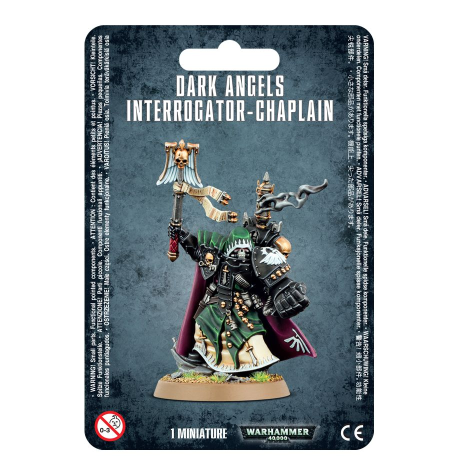 Games Workshop Dark Angels Interrogator Chaplain