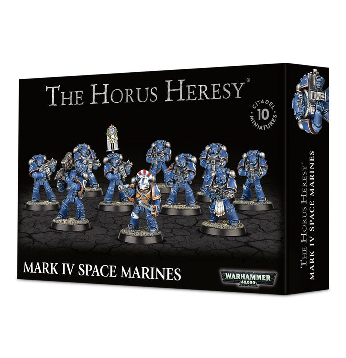 Games Workshop Mark Iv Space Marines