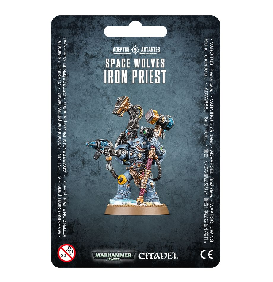 Games Workshop Iron Priest