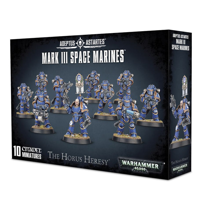 Games Workshop Mark 3 Space Marines