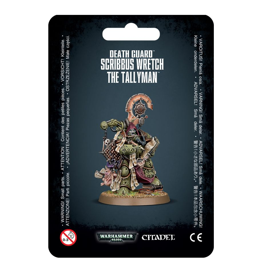Games Workshop Scribbus Wretch, Tallyman