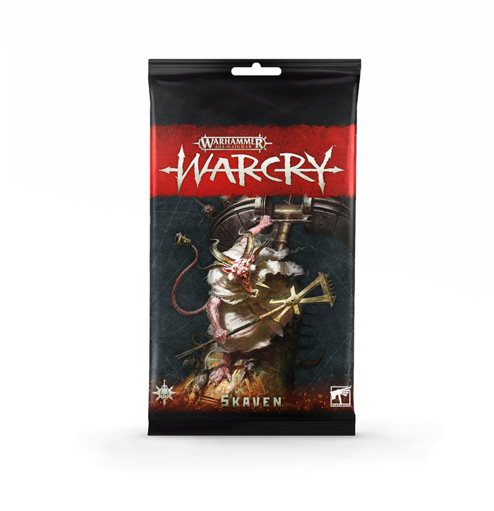 Games Workshop Warcry: Skaven Card Pack