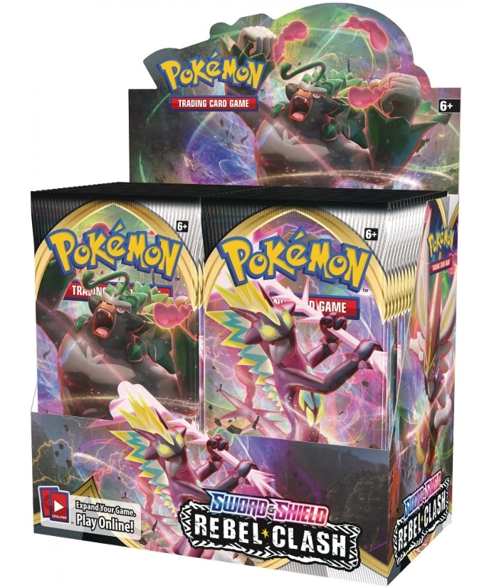 POKEMON Booster Box (36 packs) - Sword and Shield Rebel