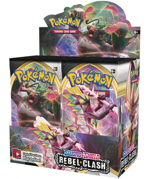 POKEMON Booster Box (36 packs) - Sword and Shield Rebel Clash