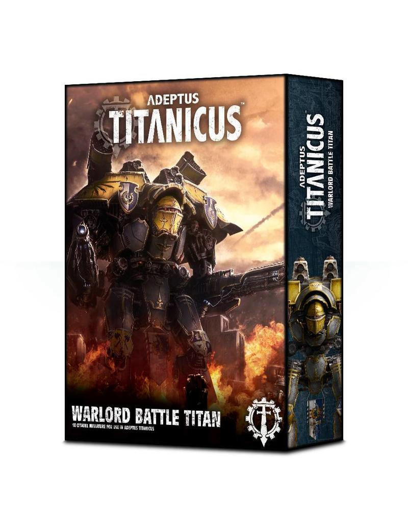 Games Workshop Adeptus Titanicus: Warlord Battle Titan