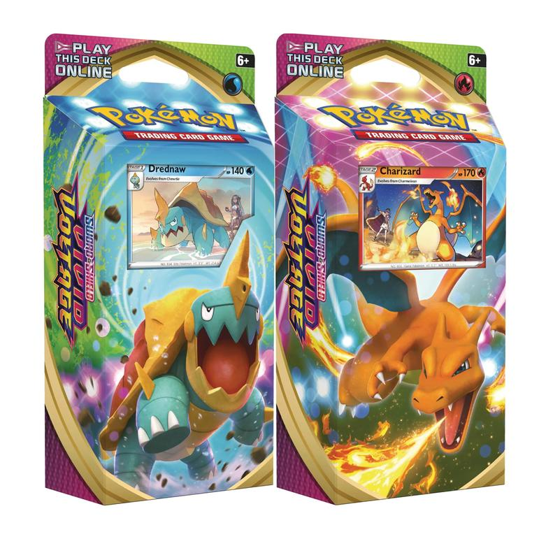 Pokemon TCG: Sword & Shield 4 Vivid Voltage Theme Deck - Charizard + Drednaw deck
