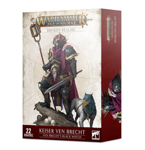 Games Workshop Broken Realms: Keiser Ven Brecht – Ven Brecht's Black Watch
