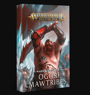 Games Workshop Warscroll Cards: Ogor Mawtribes