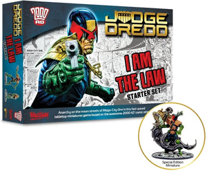 Judge Dredd Game I Am The Law Starter Set