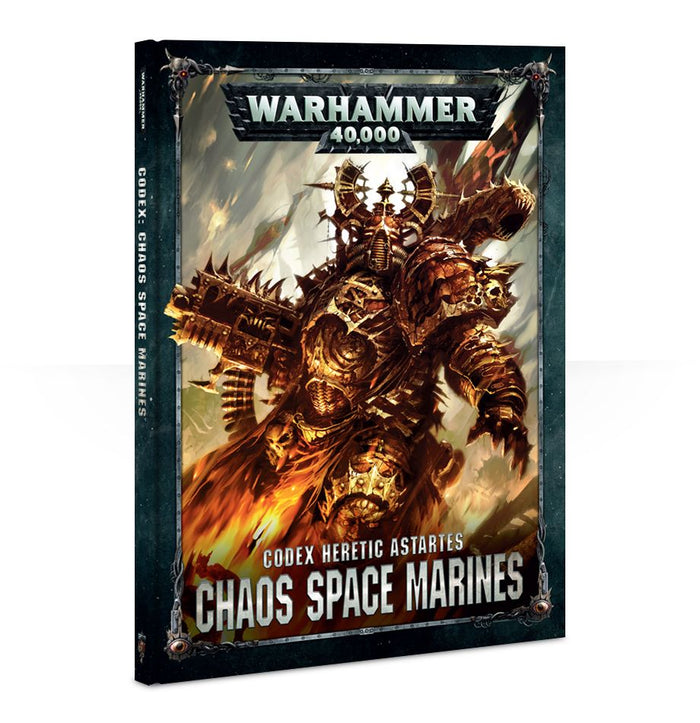 Games Workshop Chaos Space Marines Codex