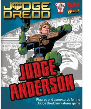 Warlord Games Judge Dredd: Judge Anderson