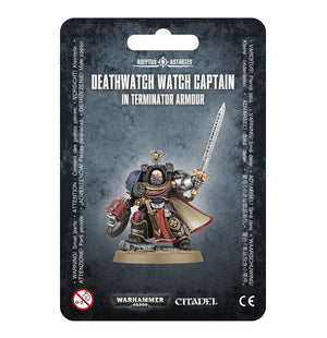 Games Workshop Deathwatch Terminator Captain