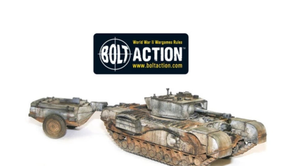 Bolt Action: Churchill Crocodile Flamethrowing Tank