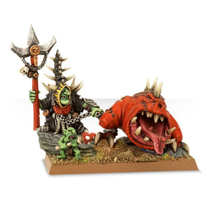 Games Workshop Loonboss with Giant cave Squig